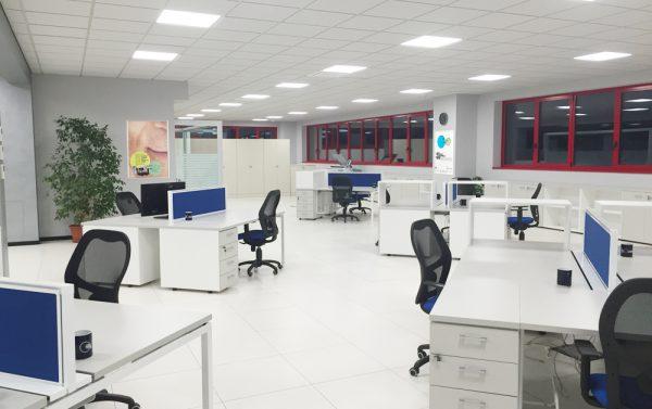 In Ufficio Tecnico : Vista ufficio tecnico u rettificatrici ghiringhelli spa